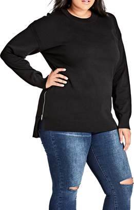 City Chic Weekend Sweater