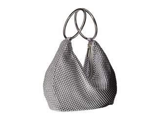Jessica McClintock Sarah Ring Clutch Clutch Handbags