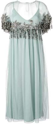 Semi-Couture Semicouture tulle embellished dress