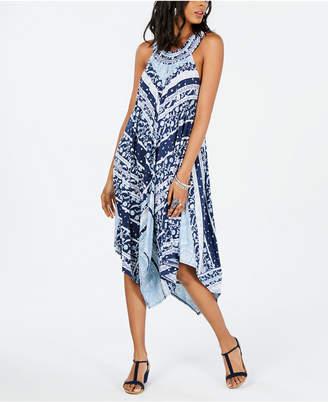 Style&Co. Style & Co Handkerchief-Hem Midi Dress, Created for Macy's