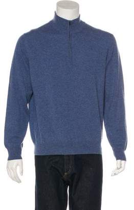 Barneys New York Barney's New York Woven Cashmere Sweater