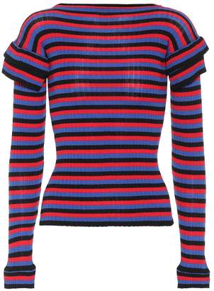 Philosophy di Lorenzo Serafini Striped cotton sweater