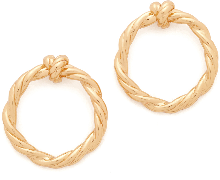 Tory Burch Tory Burch Twisted Knot Earrings