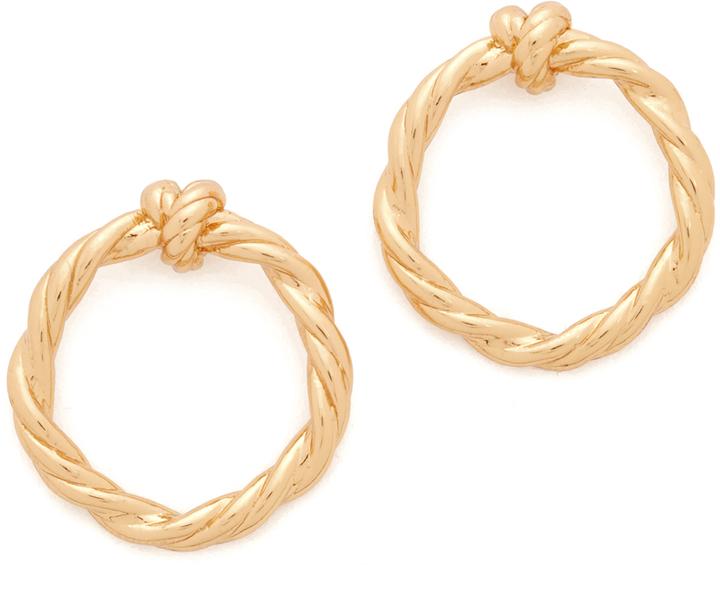 Tory BurchTory Burch Twisted Knot Earrings