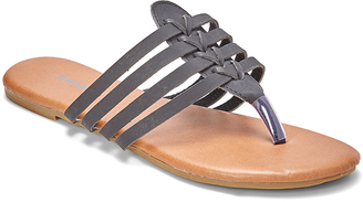 Black Strappy Sandal $14.95 thestylecure.com
