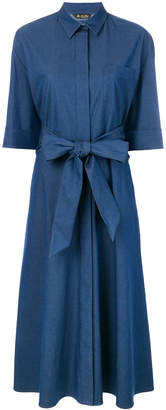 Loro Piana belted shirt dress