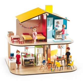 Djeco Color house dolls house