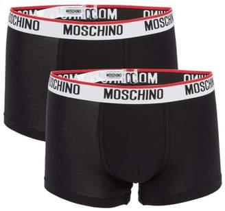 Moschino 2-Pack Basic Trunks