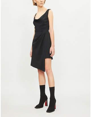 Pinko Guglielmo stretch-crepe dress