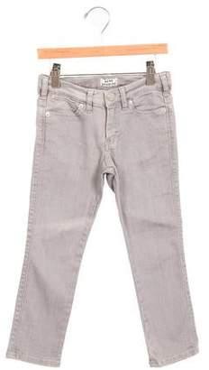 Acne Studios Girls' Straight-Leg Mini Max Jeans