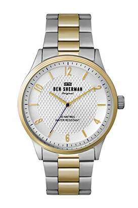Ben Sherman Men's Quartz Silver and Gold and Alloy Casual Watch