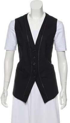 Neil Barrett Wool V-Neck Vest w/ Tags