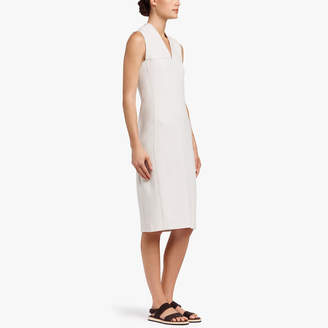 James Perse HIGH TWIST PONTE DRESS