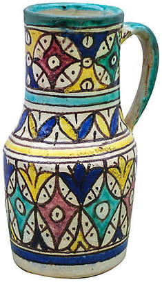 One Kings Lane Vintage Andalusian Ceramic Pitcher - The Moroccan Room