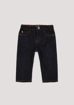 Emporio Armani Stretch Denim Jeans With Elasticated Waist