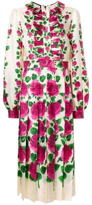 Gucci Rose Garden print dress