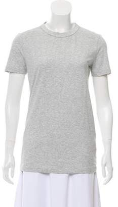 Brunello Cucinelli Monili-Trimmed Crew Neck T-Shirt