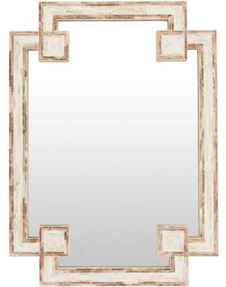 "Art of Knot Askew 28"" x 37.8"" Framed Mirror"
