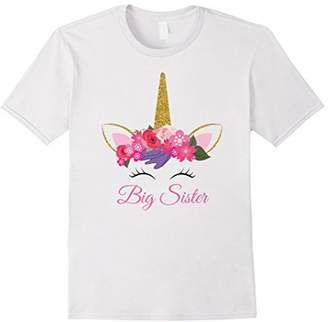 Kids Unicorn Big Sister Shirt I'm Going to be a Big Sister T