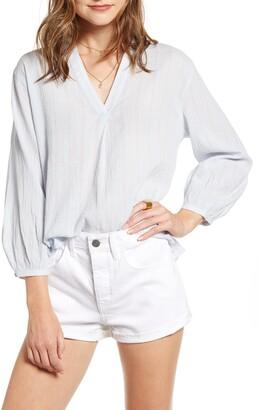 Treasure & Bond Stripe Popover Shirt