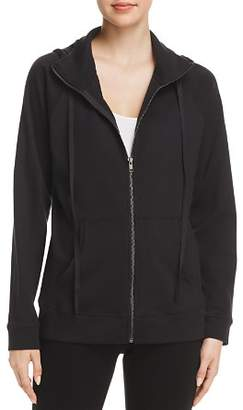 Eileen Fisher Organic-Cotton Zip Hoodie