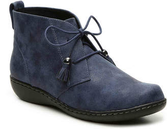 SoftStyle Soft Style Jinger Wedge Bootie - Women's