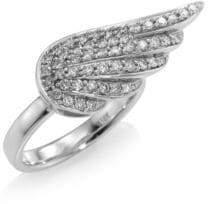 Sydney Evan Angel Wing Diamond Ring