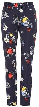 Banana Republic Petite Sloan Skinny-Fit Patrizia Floral Ankle Pant