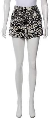 Emilio Pucci Printed Mini Shorts