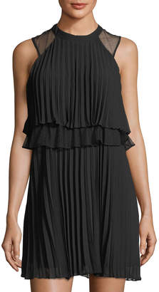 BCBGeneration Sleeveless Layered Dress