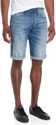 G Star Raw Cuffed Denim Shorts