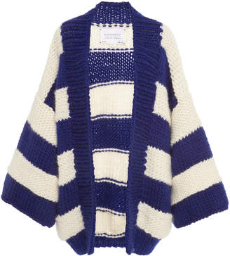 I Love Mr. Mittens Striped Wool Cardigan