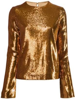 Galvan sequin Clara blouse