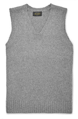 Beams Wool-Blend Sweater Vest