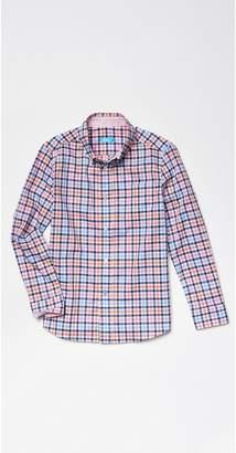 J.Mclaughlin Boys' Carnegie Shirt in Check