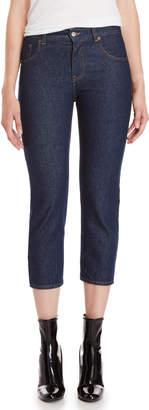 MM6 MAISON MARGIELA Indigo Low-Rise Cropped Jeans