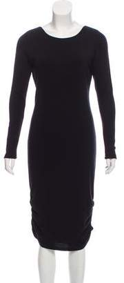 Alice + Olivia Midi Bodycon Dress
