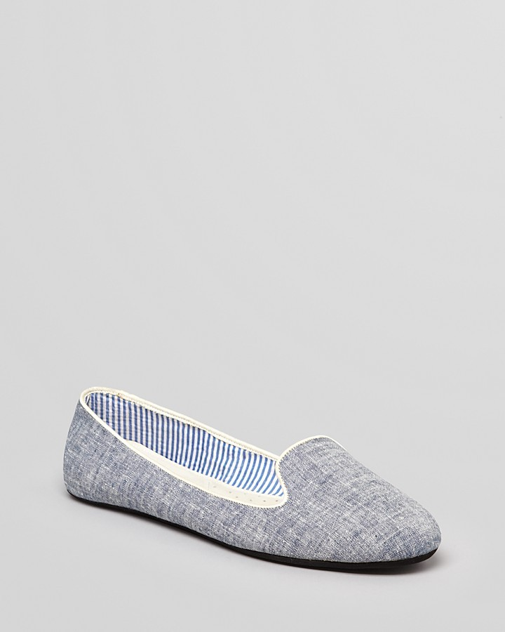 "Charles Philip Sheila"" Denim Loafers"