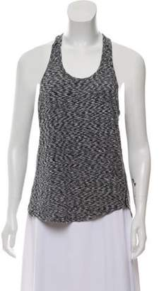 Outdoor Voices Sleeveless Racer Back Top Grey Sleeveless Racer Back Top