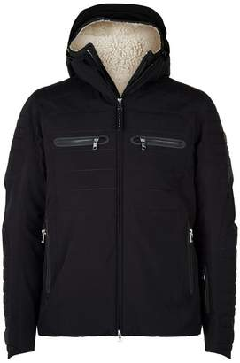 Bogner Shearling Lined 2-in-1 Waterproof Puffer Coat