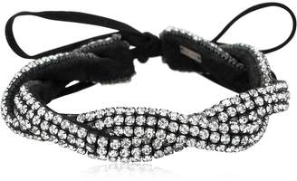 Isabel Marant Knotted Strass Choker