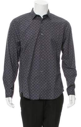 Vince Patterned Button-Up Shirt w/ Tags