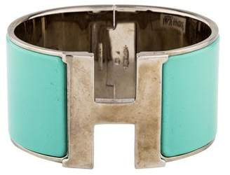 Hermes Extra Wide Clic Clac H Bracelet