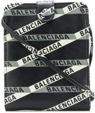 Balenciaga Strap Wallet Continental