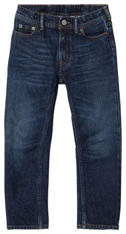 Dark Blue Bear Jeans