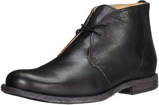 Frye Men's Phillip Chukka Boot,Black Vintage Leather