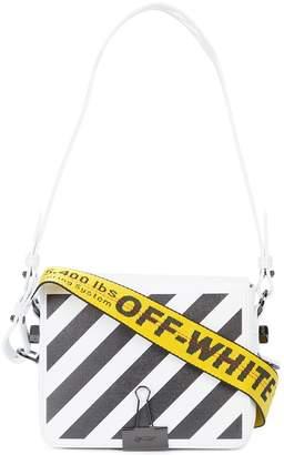Off-White striped logo crossbody bag