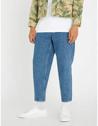 Magic Stick Buggy faded regular-fit tapered jeans