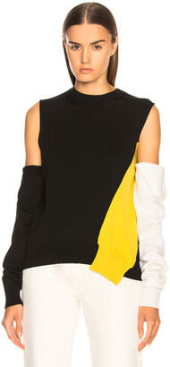 Calvin Klein Fold Down Sleeve Sweater