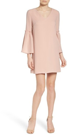 Women's Chelsea28 Ruffle Bell Sleeve Dress 3